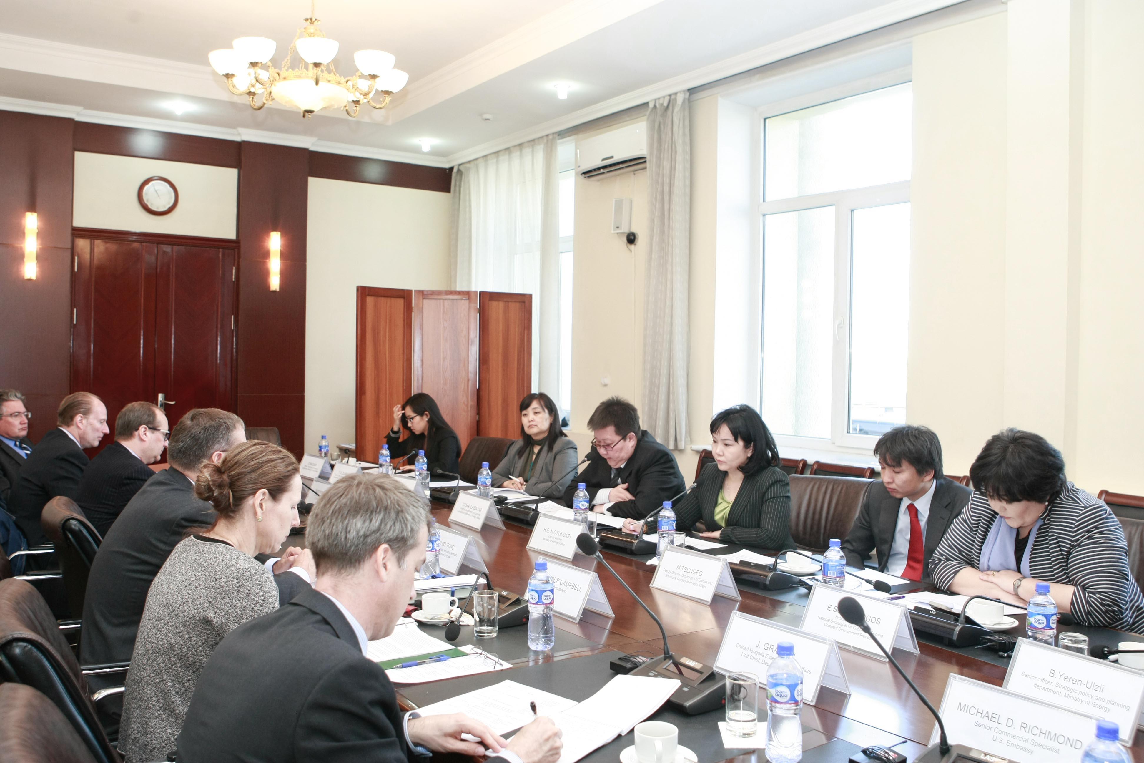 Эдийн засгийн бодлогын зөвлөлдөх уулзалт өндрөлөлөө