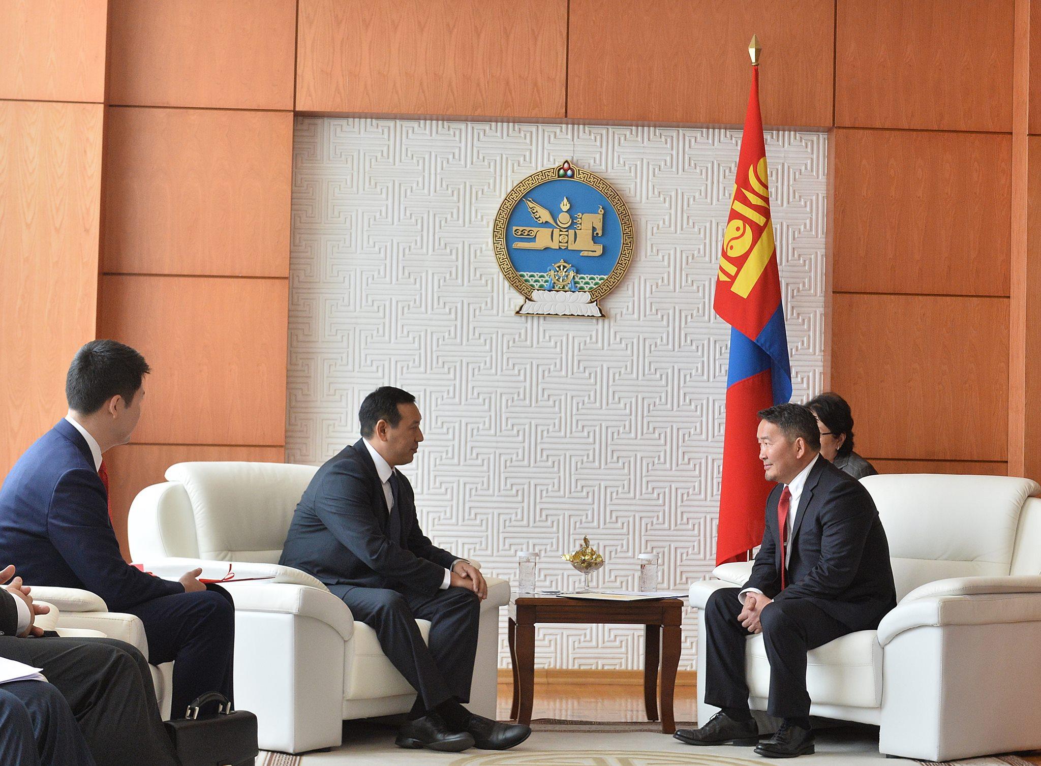 Бүгд Найрамдах Киргиз Улсын Ерөнхий сайдын тусгай элчийг хүлээн авч уулзлаа