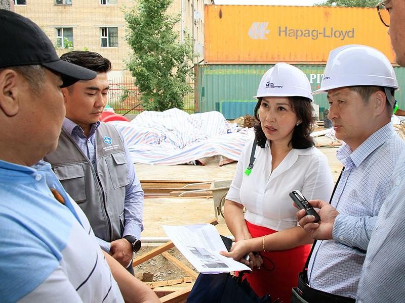 Хан-Уул дүүргийн 28, 53 дугаар цэцэрлэгийн барилгын ажлын явц 85-90 хувьтай байна