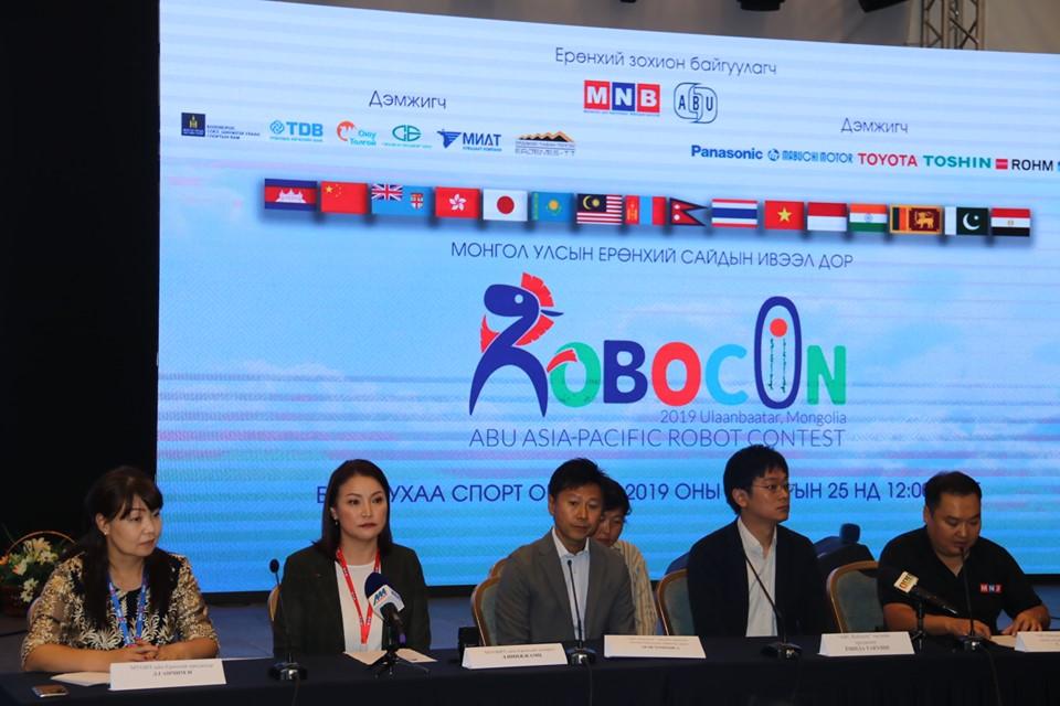 """""""ABU Robocon–2019 Mongolia"""" олон улсын роботын тэмцээн Монгол Улсад анх удаа болно"""