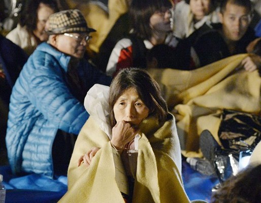 Японы Кумамото мужид хүчтэй газар хөдлөлт боллоо