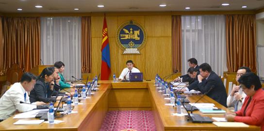 Хэрэг эрхлэх газрын тэргүүн дэд даргаар Ш.Солонгыг эргүүлэн томиллоо