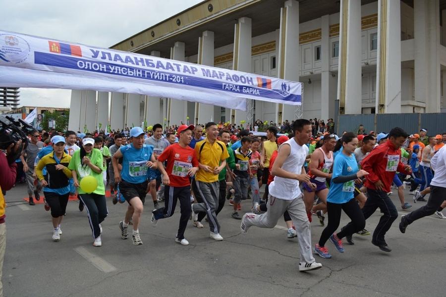 """""""Улаанбаатар марафон"""
